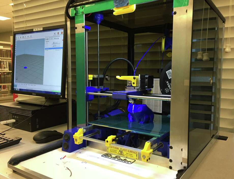 Fort Bend County Libraries' Cinco Ranch Branch Library will have a demonstration and instructional session on the use of its 3D printer on Thursday, March 22, from 10 to 11 am, in the Computer Lab of the library, located at 2620 Commercial Center Blvd. in Katy. Photo: Fort Bend County Libraries