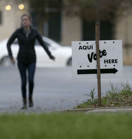 Polls open at 7 a.m. and close at 7 p.m. Photo: John Davenport, STAFF / San Antonio Express-News / ©John Davenport/San Antonio Express-News