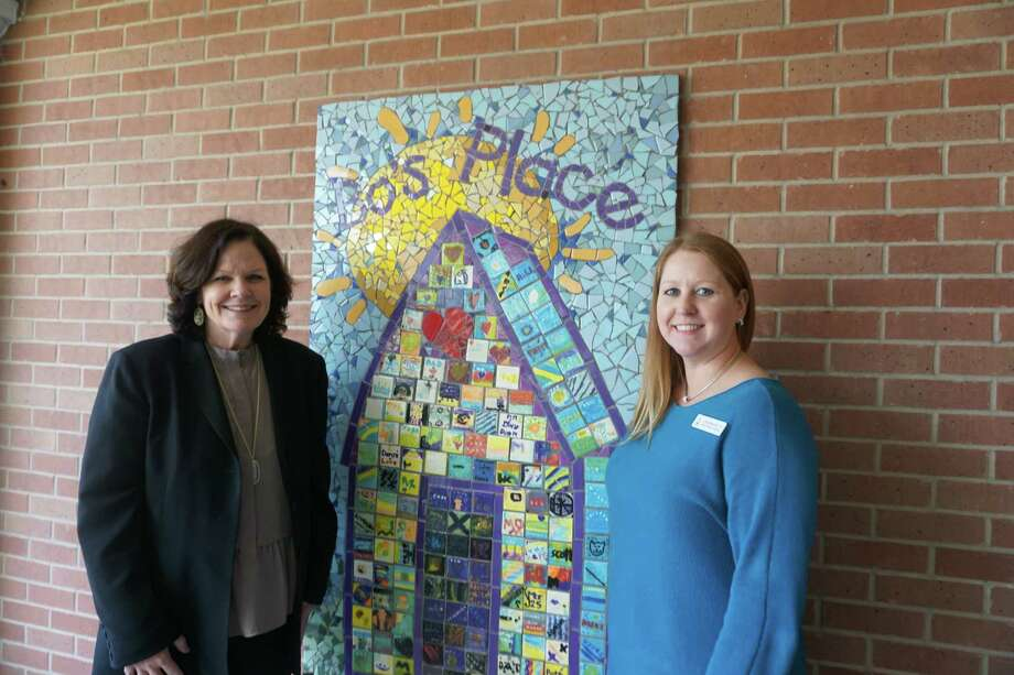 In 2017, Executive Director Mary Beth Staine and Katy Program Manage Lori Bokone helped Bo's Place to provide support groups to more than 1,300 grieving individuals who had lost a loved one. Photo: Tracy Maness