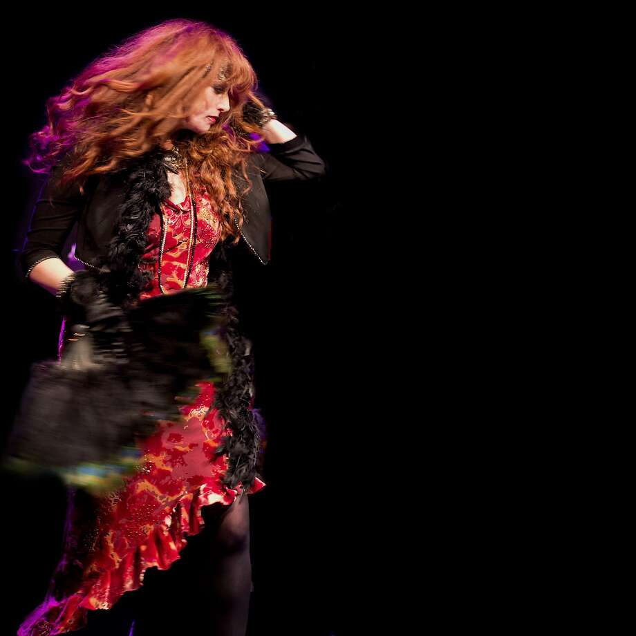 """Roberta Donnay and her Prohibition Mob Band perform songs from their new recording """"My Heart Belongs to Satchmo"""" in Mill Valley and Berkeley. Photo: Eddy Bee Images"""