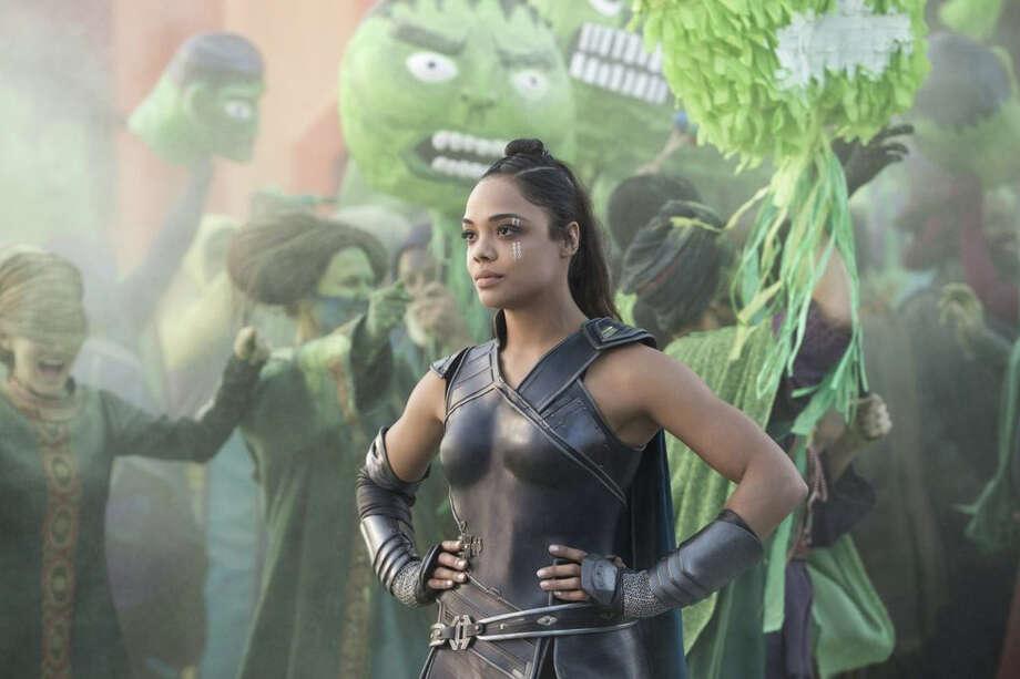 "Tessa Thompson portrays Valkyrie in ""Thor: Ragnarok."" Photo: Marvel Studios / Marvel Studios"