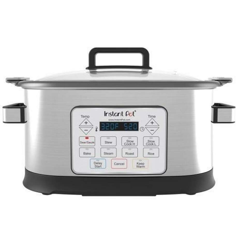 Double Insight is recalling 104,000 Gem 65 8-in-1 Instant Pot multicookers because manufacturer defect can cause the multicooker to overheat and melt on the underside, posing a fire hazard. Photo: Contributed / Courtesy Of The U.S. Consumer Product Safety Commission