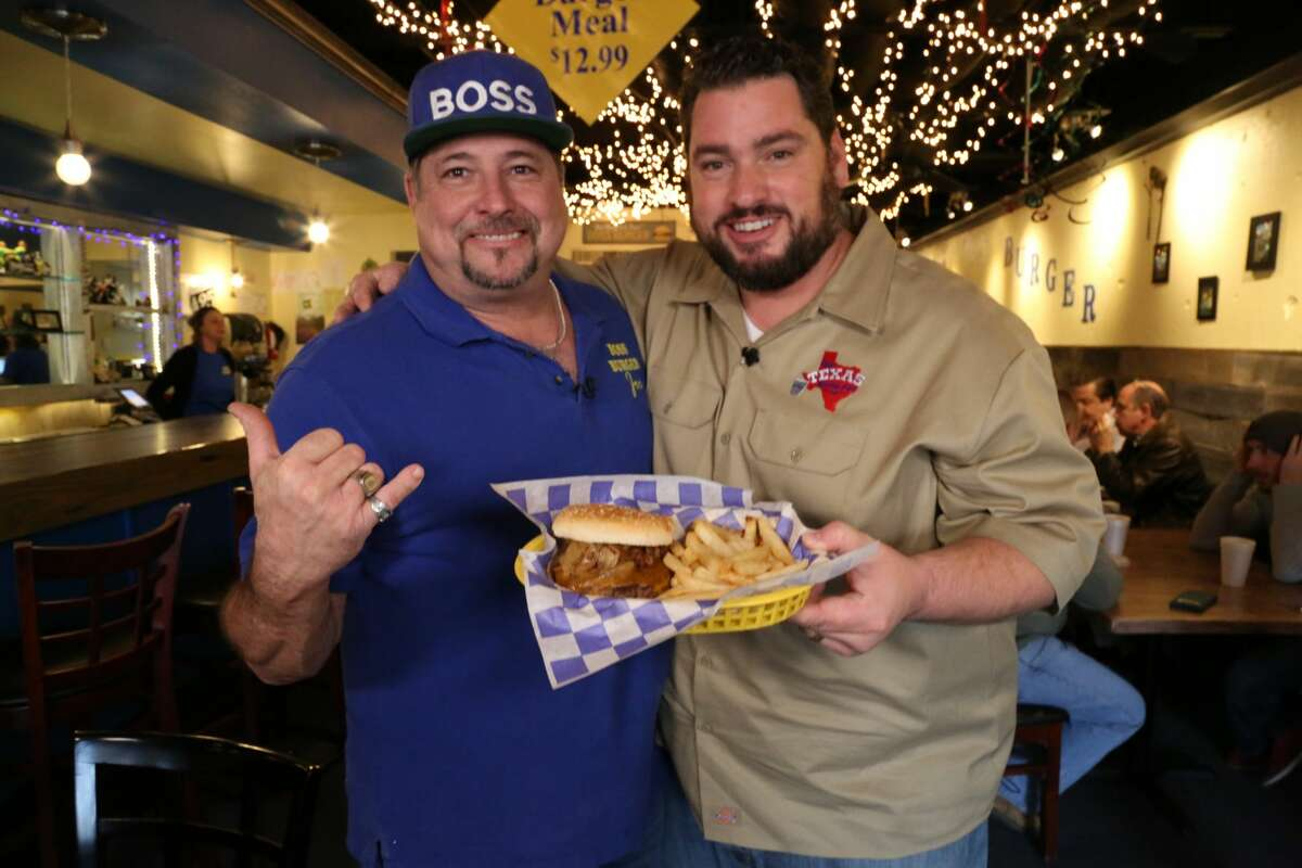 Host of The Texas Bucket List Shane McAuliffe interviews Joe Oates of Nederland, Texas. Oates is the proprietor of Boss Burger and featured their burger covered with apples.