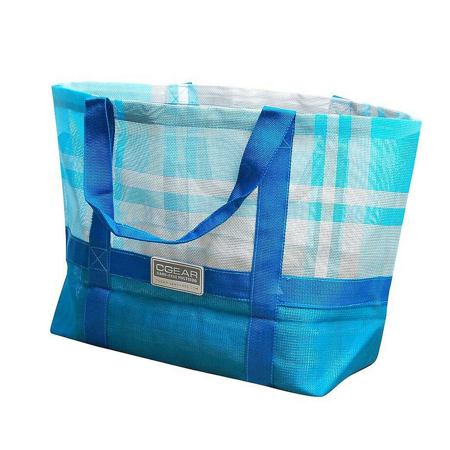 CGear Sand-Free's other products include this beach totes ($29.99). Photo: CGear Sand-Free.
