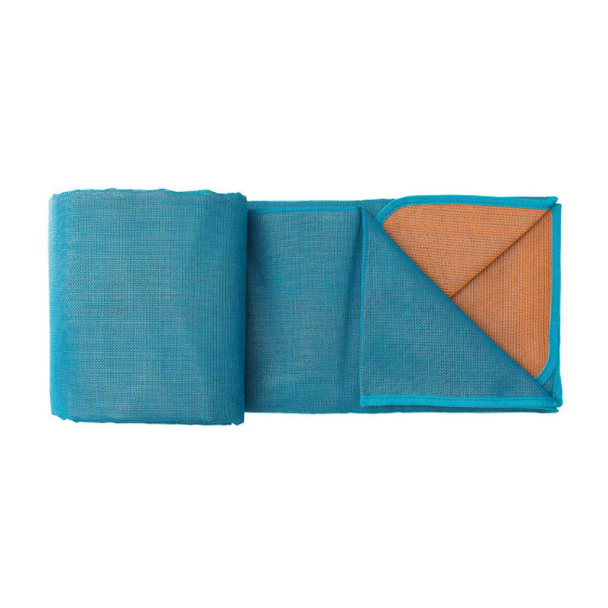 The CGear Comfort Sand-Free Mat allows sand to filter below it but not rise through it.
