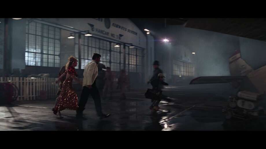 """Famous movies you didn't know were filmed in the Bay Area Marin County stood in for far-flung Shanghai in """"Indiana Jones and the Temple of Doom."""" The airport in the beginning of the film is actually Hamilton Air Force Base in Novato. Photo: Screenshot"""