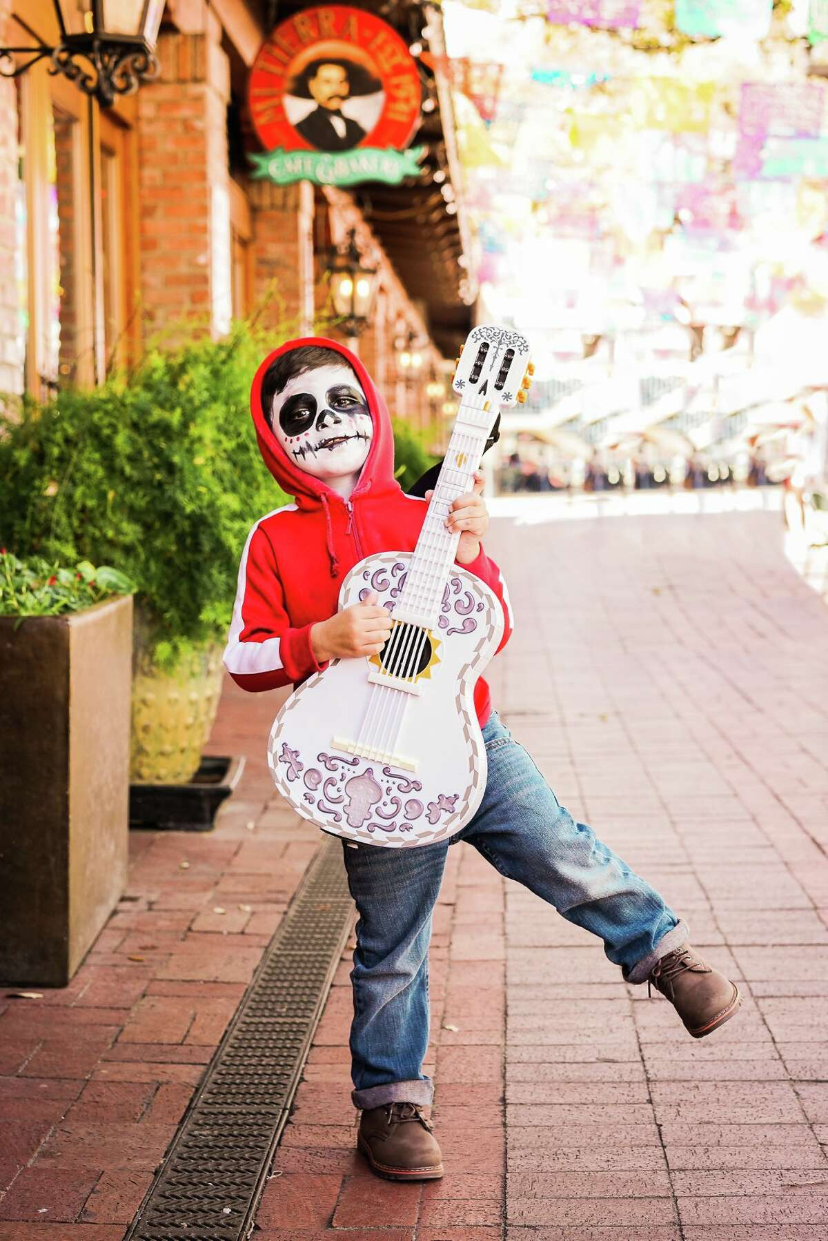 Photographer and owner of Pop of Color Images Megan Bowling took the photos of 3-year-old Brandon Urbanczyk dressed as the movie's main character Miguel.
