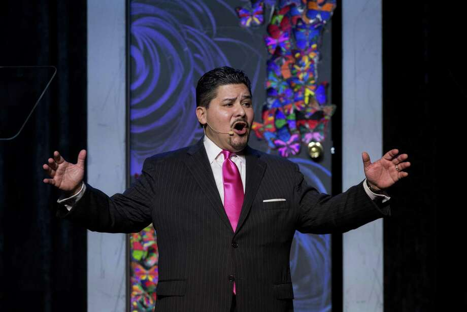HISD Superintendent Richard Carranza speaks to roughly 1,500 members of Houston's business, non-profit- and faith-based community in attendance for the annual State of the Schools address at Hilton Americas Hotel Thursday, Feb. 15, 2018, in Houston. ( Godofredo A. Vasquez / Houston Chronicle ) Photo: Godofredo A. Vasquez, Houston Chronicle / Houston Chronicle / Godofredo A. Vasquez