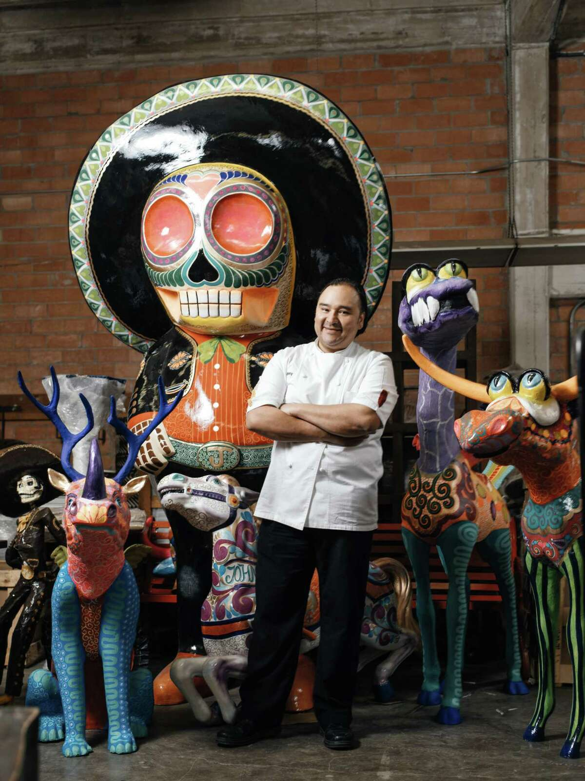San Antonio chef and restaurateur Johnny Hernandez is one of three chefs preparing a dinner Sunday for Spain's royal couple.
