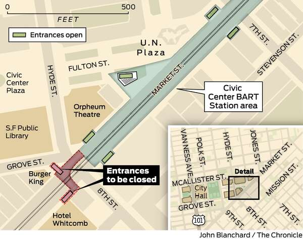 Bart S Plans For Civic Center Station Worries Patrons Of The Arts