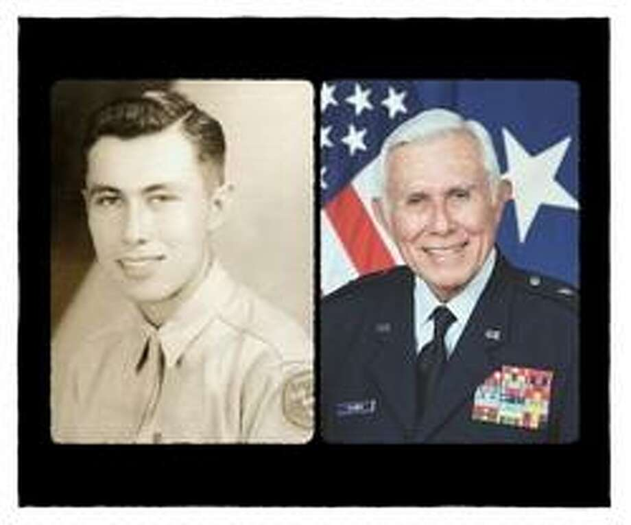 Belisario J. Flores rose from being an enlisted man in the Army to brigadier general in the Texas Air National Guard and the first Hispanic to be promoted to general officer rank in the National Guard of Texas. Photo: Courtesy Photos