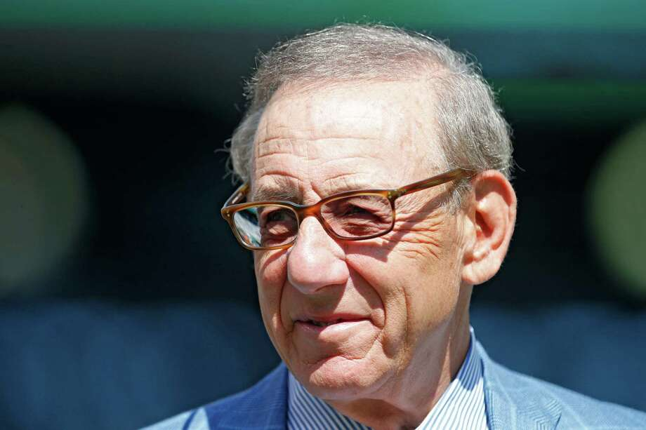 EAST RUTHERFORD, NJ - SEPTEMBER 24: Stephen M. Ross owner of the Miami Dolphins looks on during warm ups prior to an NFL game against the New York Jets at MetLife Stadium on September 24, 2017 in East Rutherford, New Jersey.  (Photo by Rich Schultz/Getty Images) ORG XMIT: 700070634 Photo: Rich Schultz / 2017 Getty Images