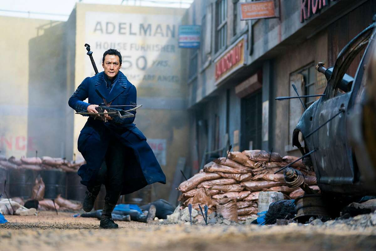 """Daniel Wu�plays Sunny, the lead character in """"Into the Badlands."""" This is a scene from Season 3, which premieres on April 22 on AMC."""