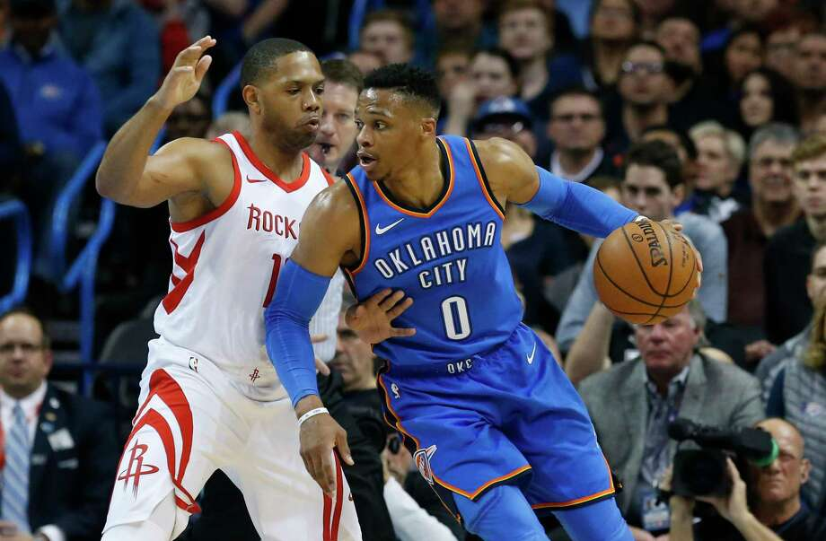 Russell Westbrook's contributions are no surprise, but the rest of the Thunder roster presents some wild cards. Photo: Sue Ogrocki, Associated Press / AP2018