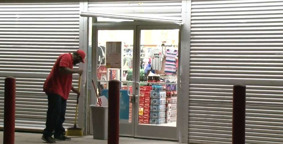 One person broke into a Family Dollar on North Wayside and Snowden, late Tuesday, March 6, 2018. Photo: Metro Video