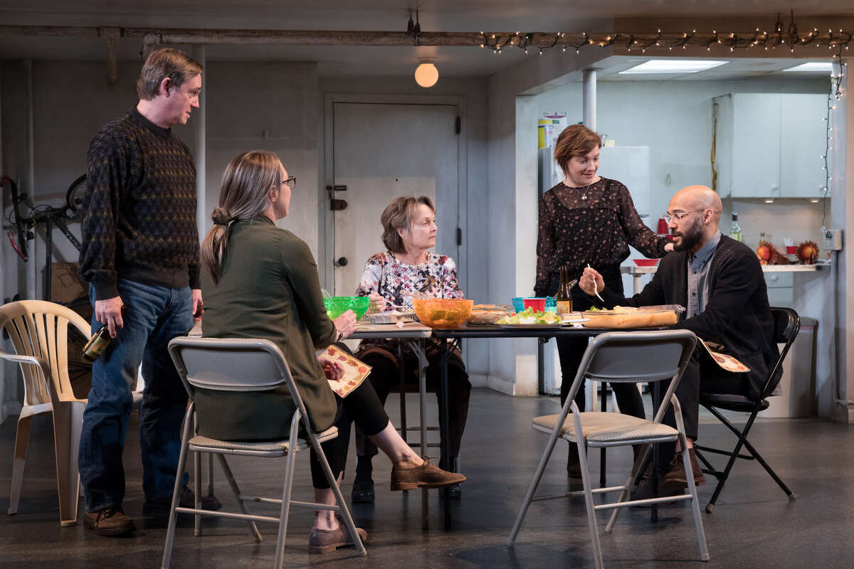 """The cast of """"The Humans,"""" running at Proctors though Sunday. (Publicity photo by Julieta Cervantes/The Humans.)"""