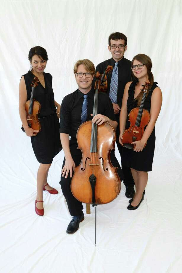 The Haven String Quartet will perform Saturday night in Hamden. Photo: Music Haven / Hearst Connecticut Media File Photo