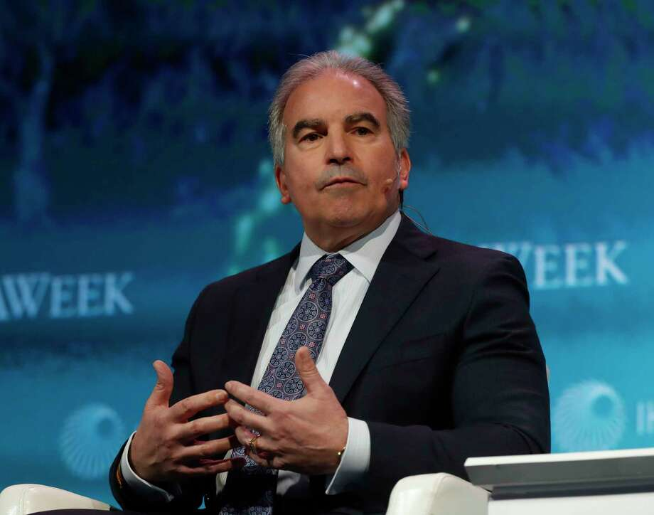 Jack Fusco, president and CEO of Houston's Cheniere Energy, spoke at the CERAWeek by IHS Markit. His company recently signed two long-term LNG export agreements with China and India.  Photo: Karen Warren, Houston Chronicle / © 2018 Houston Chronicle