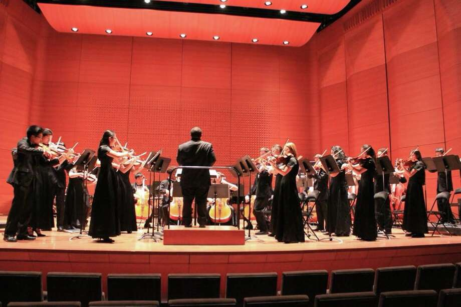 Klein High School's orchestra won the title of the 2018 National Orchestra Cup Grand Champions in the      National Orchestra Championships in New York City. Photo: Klein ISD
