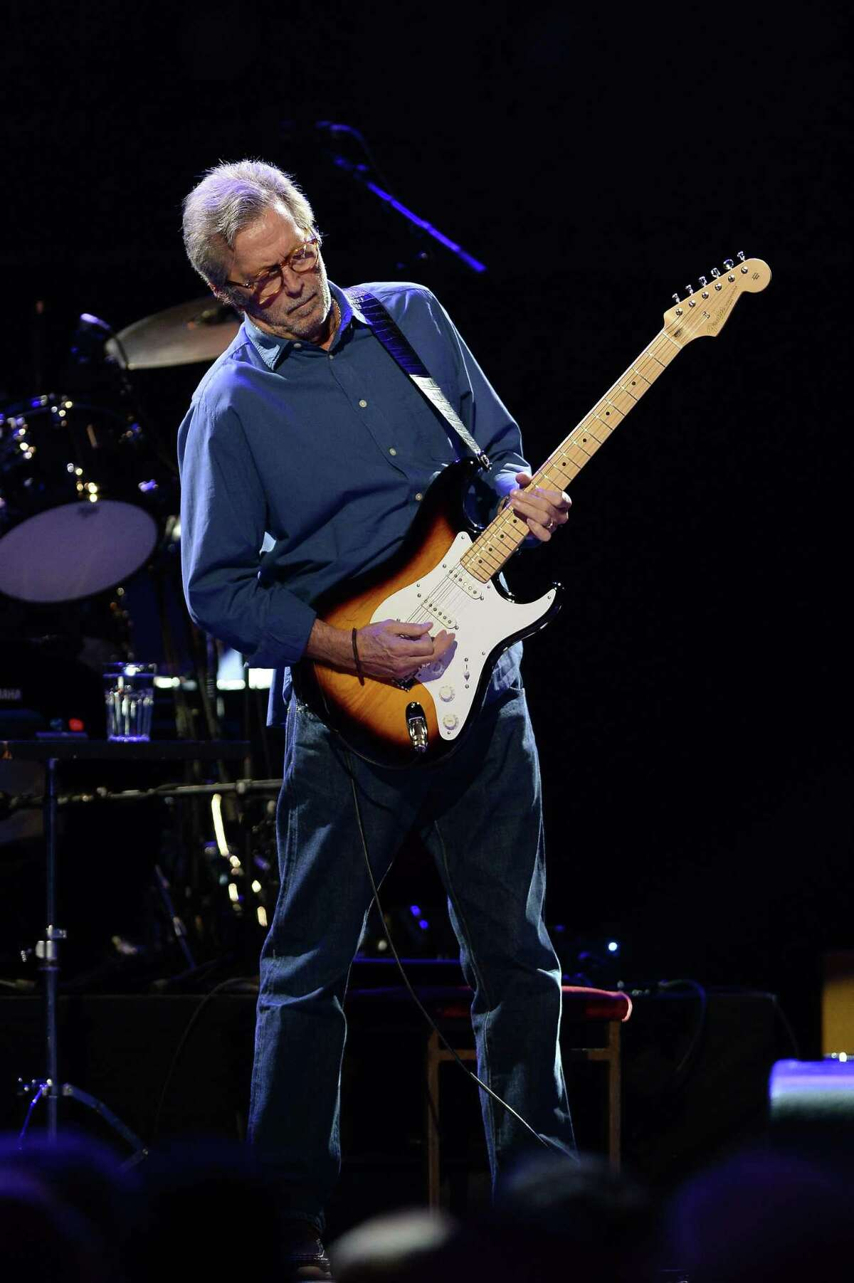 Eric Clapton will headline at the Greenwich Town Party.