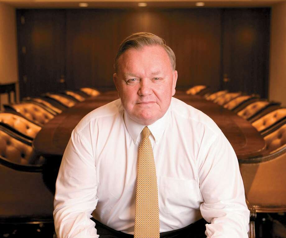 Robert Burton, Sr., chairman and CEO of Stamford-based printing and mailing company Cenveo, which declared bankruptcy in February 2018 . Photo: Contributed Photo / © 2006 Richard Freeda All Rights Reserved