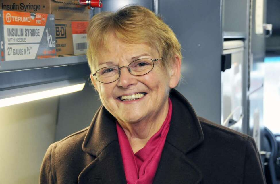Sister Maureen Joyce, longtime CEO of Catholic Charities, died Friday. (John Carl D'Annibale / Times Union)