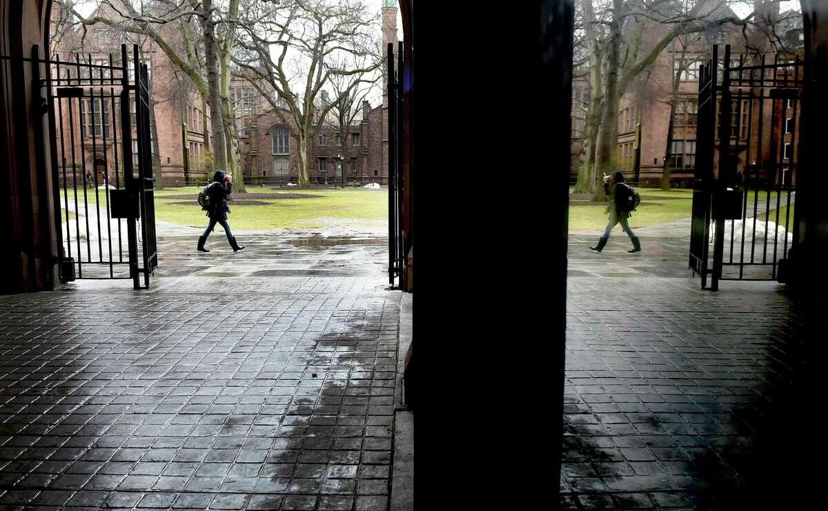 Yale University's Old Campus.
