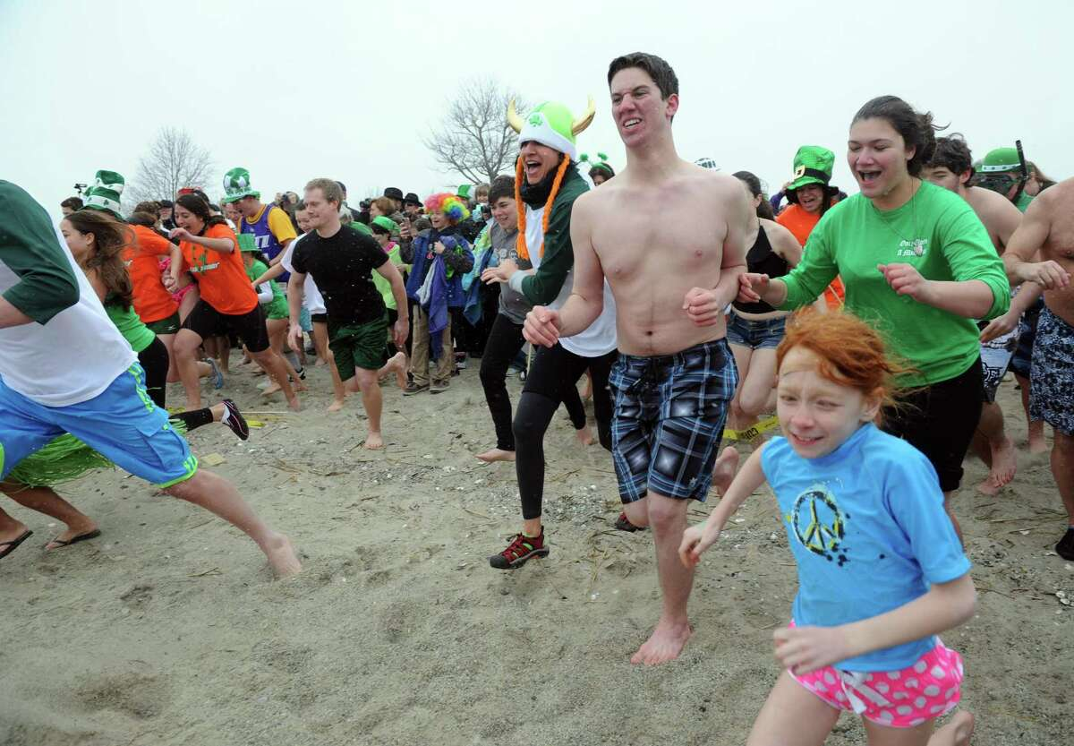 The Literacy Volunteer of Southern Connecticut invites Leprechaun Leap participants to run, jump or dive into the cold waters of Walnut Beach in Milford on Saturday. Find out more.
