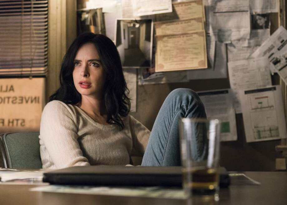 "Krysten Ritter stars as a former superhero now working as a private investigator in ""Marvel's Jessica Jones"" on Netflix. Photo: David Giesbrecht/Netflix / David Giesbrecht / Netflix"
