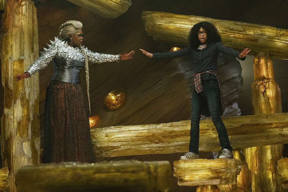 "Enjoy an outdoor screening of Disney's ""A Wrinkle in Time"" Friday night at Charter Oak Landing in Hartford. Click here for more information. Photo: Atsushi Nishijima, Associated Press"