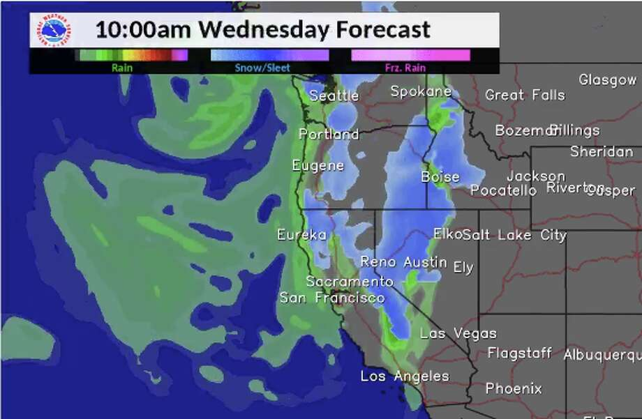 The National Weather Service Bay Area Said Wednesday Storm Door Remains Open Here