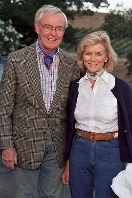 Ambassador Howard Leach and his wife Gretchen Leach at the Shansby Cowboy party.  Ran on: 08-22-2004