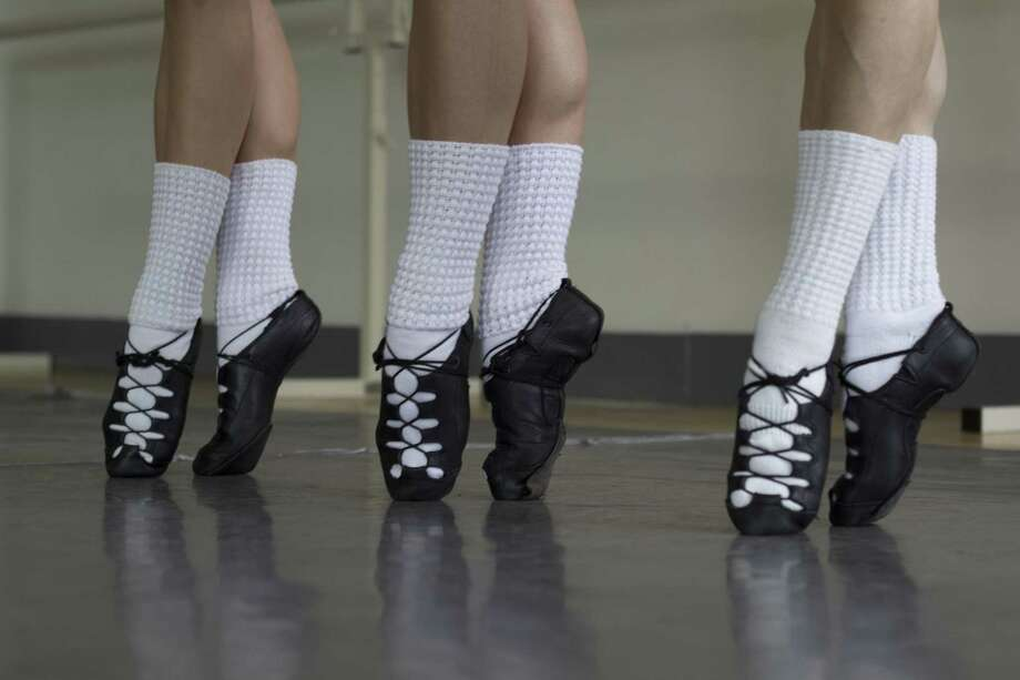 A closeup of dancers on their toes from Brennan Lucey Irish Dance Academy. Photo: Brennan Lucey / Contributed Photo