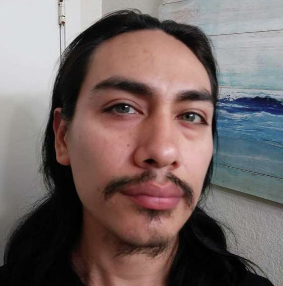 "Investigators are searching for Jacob Gonzales, a 34-year-old man believed to be driving a green 1990 Mitsubishi Montero with the Washington license number AYE2639. Gonzales is described as a Hispanic man with black hair and hazel eyes standing 5 feet, 9 inches tall and weighing 150 pounds. He is a ""person of interest"" in the decapitation of 26-year-old Katherine Cunningham.  Photo: Island County Sheriff's Office"