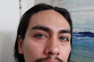 "Investigators are searching for Jacob Gonzales, a 34-year-old man believed to be driving a green 1990 Mitsubishi Montero with the Washington license number AYE2639. Gonzales is described as a Hispanic man with black hair and hazel eyes standing 5 feet, 9 inches tall and weighing 150 pounds. He is a ""person of interest"" in the decapitation of 26-year-old Katherine Cunningham."