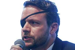 United States Congressional District 2 candidate Dan Crenshaw speaks during the Houston Congressional Candidate Forum at Houston's First Baptist Church Thursday, Jan. 18, 2018 in Houston. ( Michael Ciaglo / Houston Chronicle)