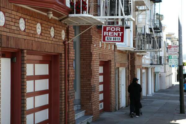 SAN FRANCISCO - JULY 08: A sign advertising an apartment for rent hangs from a fire escape in front of an apartment building July 8, 2009 in San Francisco, California. As the economy continues to falter, vacancy rates for U.S. apartments have spiked to a twenty two year high of 7.5 percent, just short of the record high of 7.8 percent set in 1986. (Photo by Justin Sullivan/Getty Images)