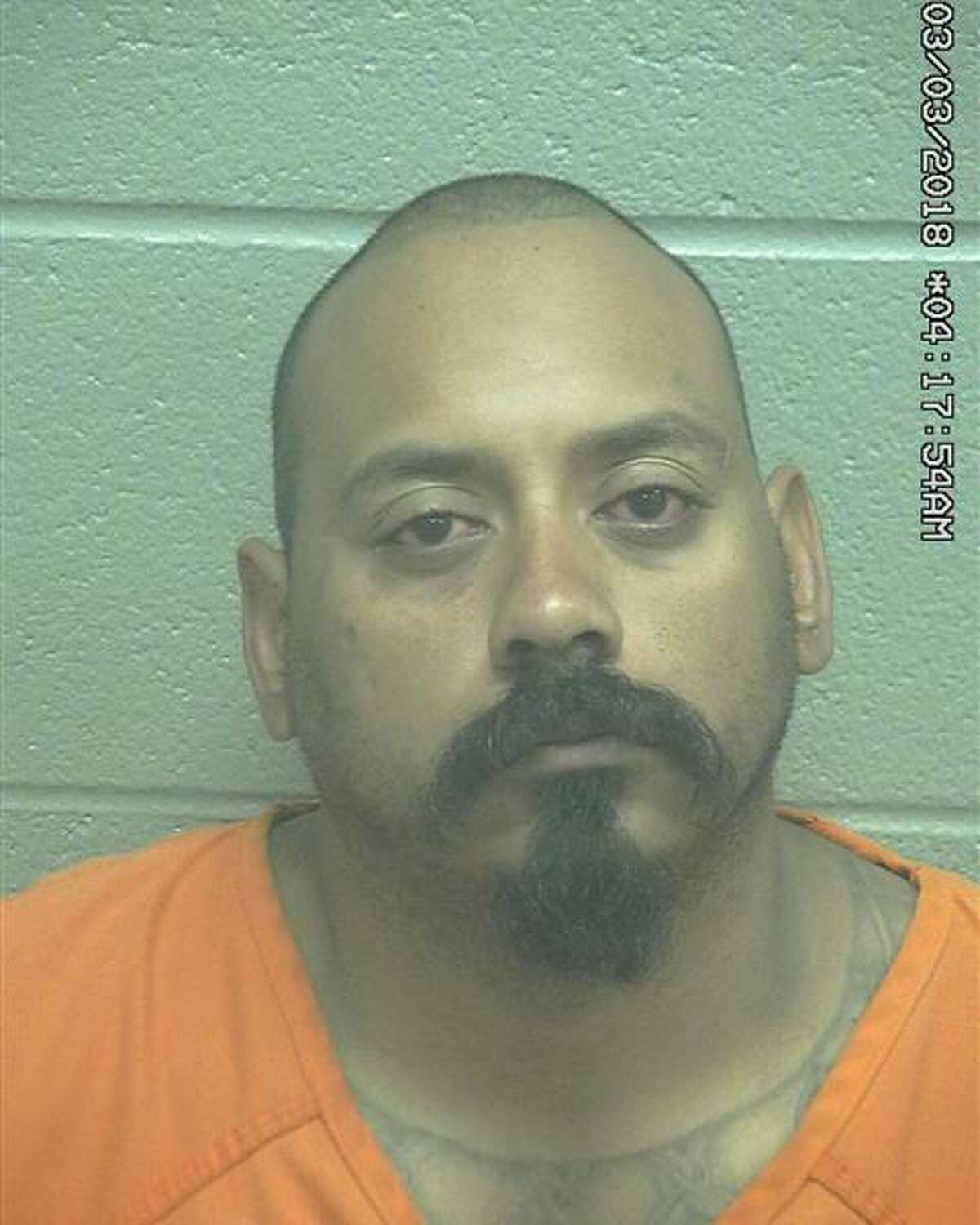 Raul Gonzalez, 32, was arrested March on a third-degree felony charge of assault of a family/house member by impeding breath/circulation and a Class A misdemeanor charge of interfering with an emergency call. READ MORE:Two men arrested on assault charges