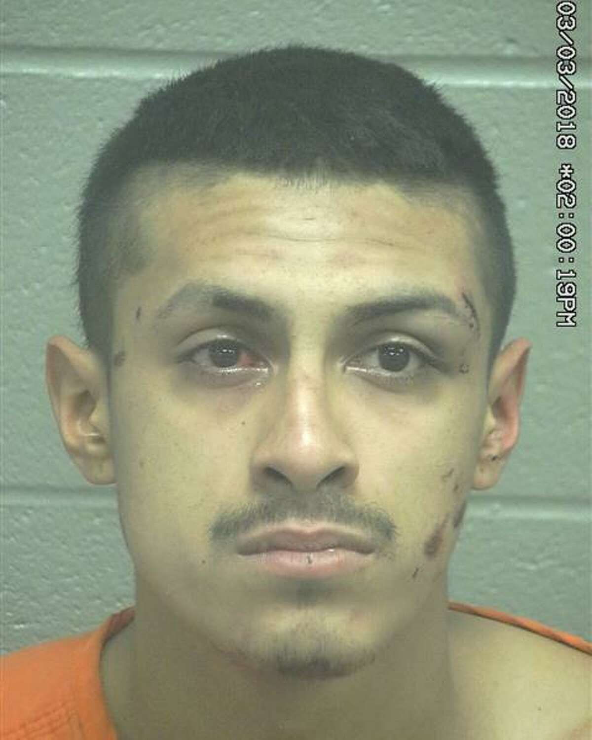 Marco Antonio Sanchez, 22, was arrested March 2 on a second-degree felony charges of assault against a peace officer and two misdemeanor charges of failure to identify and resisting arrest. READ MORE:Two men arrested on assault charges