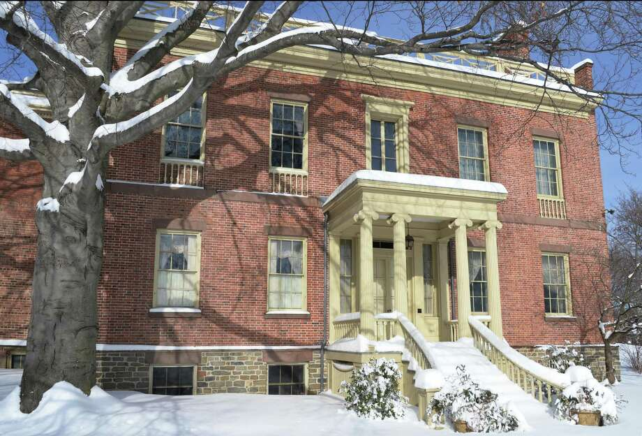 Exterior of the Ten Broeck Mansion Tuesday Feb. 3, 2015, in Albany, NY.  (John Carl D'Annibale / Times Union) Photo: John Carl D'Annibale / 00030374A