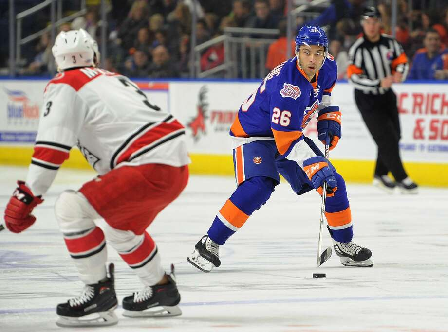 Sound Tiger Josh Ho-Sang. Bridgeport Sound Tigers v. Charlotte Checkers AHL hockey at the Webster Bank Arena in Bridgeport, Conn. on Sunday, February 25, 2018. Photo: Brian A. Pounds / Hearst Connecticut Media / Connecticut Post