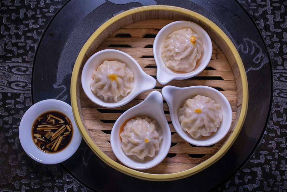 Crab Roe Soup Dumplings at Dragon Beaux. Photo: John Storey, Special To The Chronicle