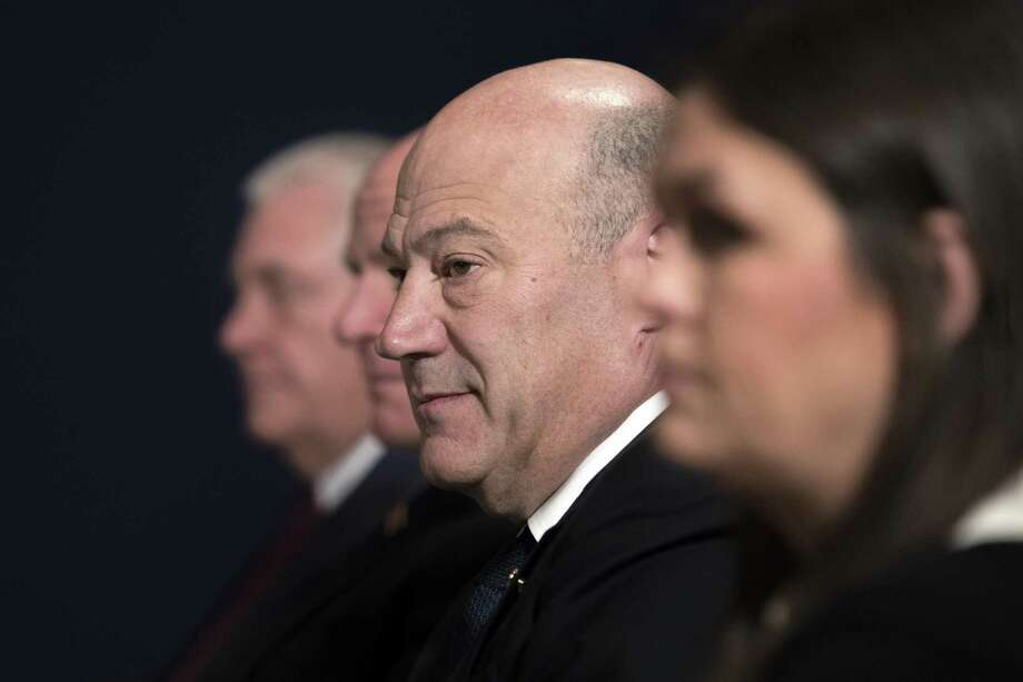 Gary Cohn, President Donald Trump's top economic adviser, intends to resign — yet another sign of the chaos in the Trump White House. Photo: TOM BRENNER /NYT / NYTNS