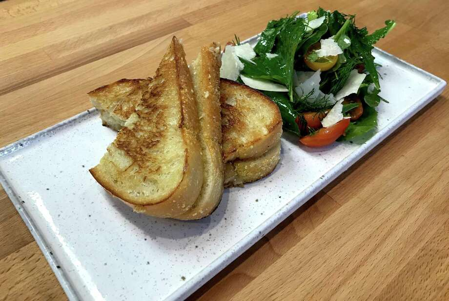 A deluxe grilled cheese sandwich is part of the new lunch menu at Clementine. Photo: Courtesy Of Clementine