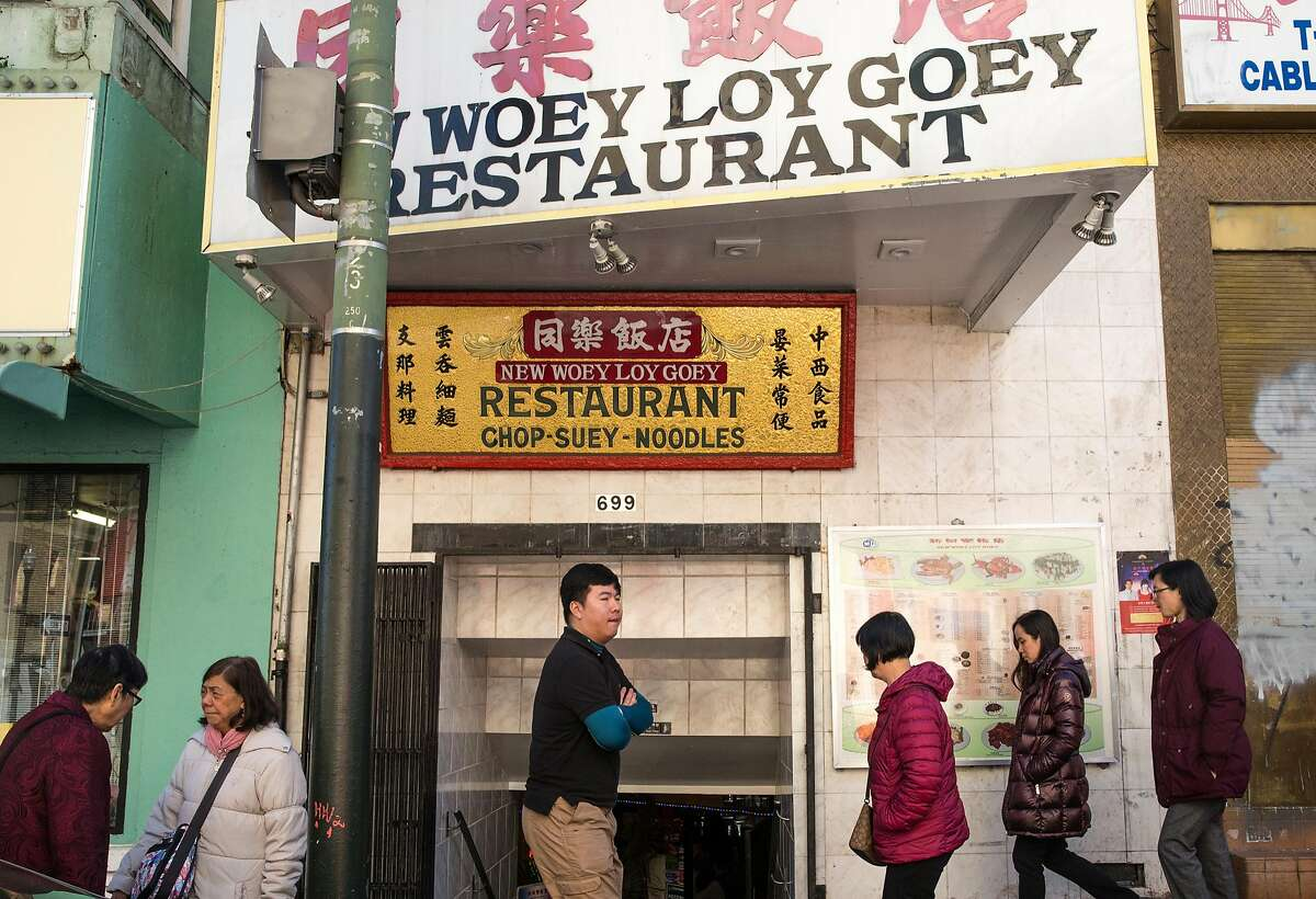 New Woey Loy Goey restaruant seen Tuesday, March 6, 2018 in the Chinatown neighborhood of San Francisco, Calif.