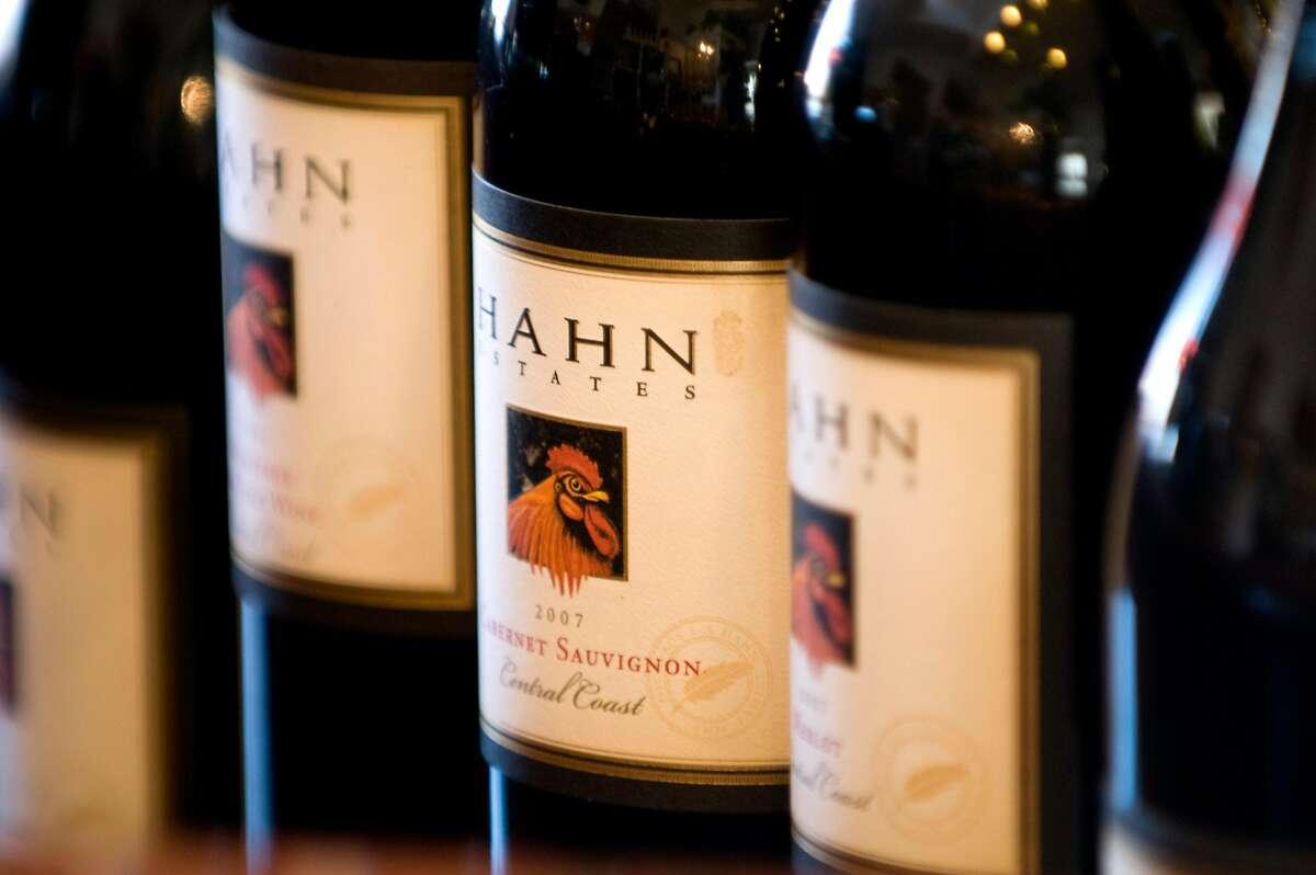 Hahn Estates tasting room in the Santa Lucia Highlands is photographed on Thursday, September 9, 2010.