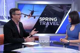 Chris McGinnis on how to save money on spring trips on ABC7 in San Francisco