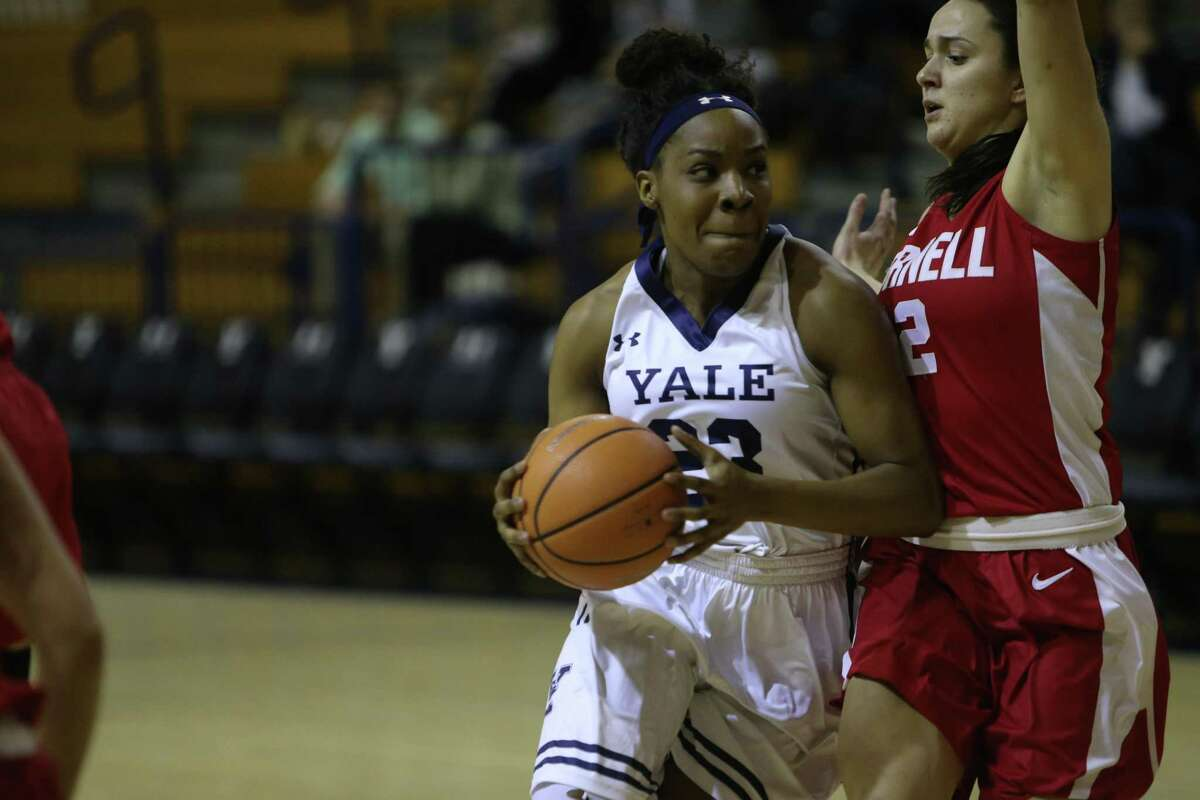 Yale senior guard Tamara Simpson was named the Ivy League's Defensive Player of the Year for the second straight season.