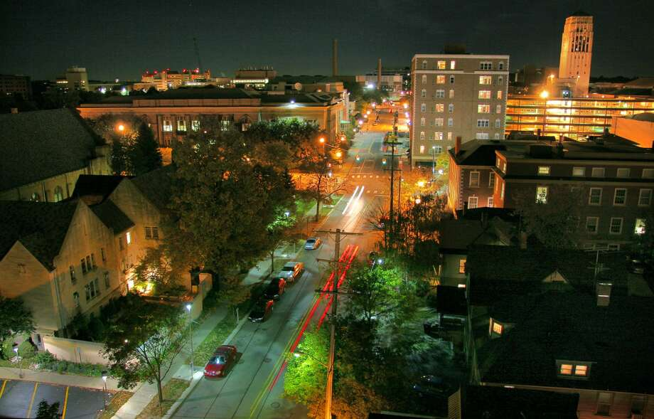 """1. Ann Arbor, MichiganOverall score: A+Public Schools score: A+Housing score: B""""Good for families"""" score: A+Crime and safety score: B-Nightlife score: ADiversity score: A Photo: Photograph By Geoffrey George/Getty Images"""