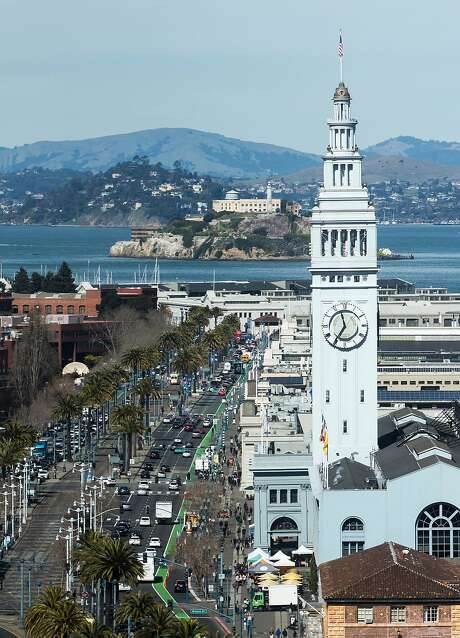 The Ferry Building, as seen from the south. Photo: Jessica Christian, The Chronicle